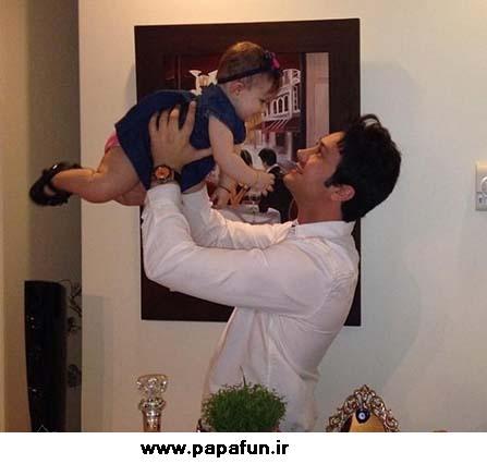 عکس های جدید شاهرخ استخری به همراه دخترش