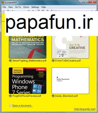 دانلود Sumatra PDF 2.5.2 Final